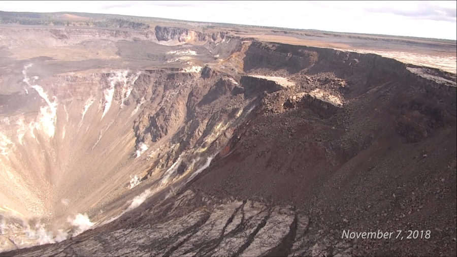 "VOLCANO WATCH: New Outcrops From Crater Collapse ""Make Good Geology"""