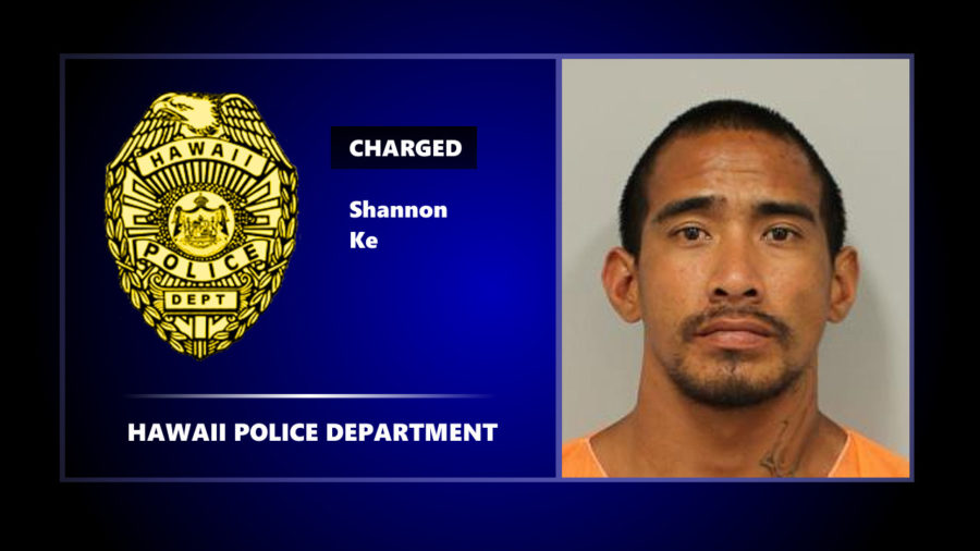 Kona Man Charged With Attempted Murder After He, Officer Tumble Into Water