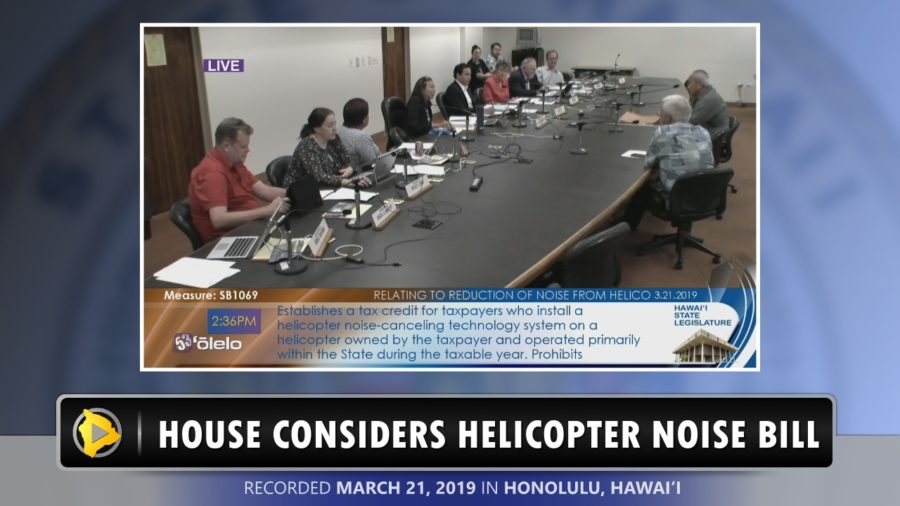 VIDEO: House Considers Helicopter Noise Bill
