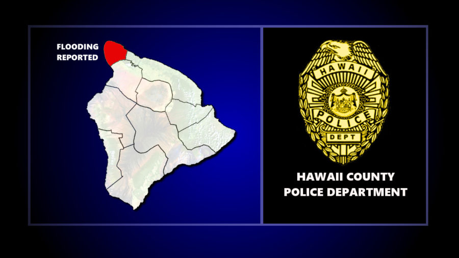 Kohala Mountain Road Closed Due To Flooding