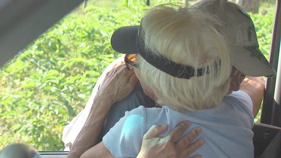 VIDEO: Joyous Moment As Lava-Locked Residents Regain Access