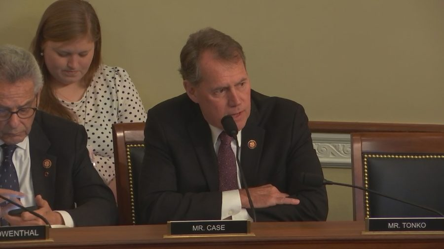 VIDEO: Rep. Case Questions National Park Deputy On Tour Helicopter Noise