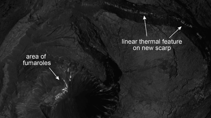 Scientists Post Kilauea Thermal Map After Summit Flyover