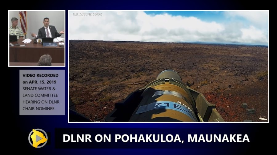 VIDEO: DLNR Chair Gives Pohakuloa, Mauna Kea, TMT Update