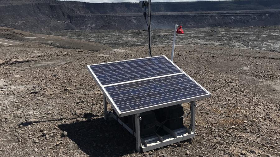 New Instruments Monitor Volcanic Gases At Kilauea Summit