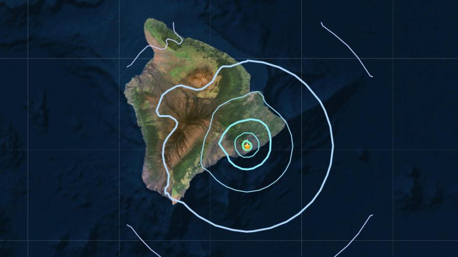 Magnitude 4.2 Earthquake Shakes Hawaii Rift Zone