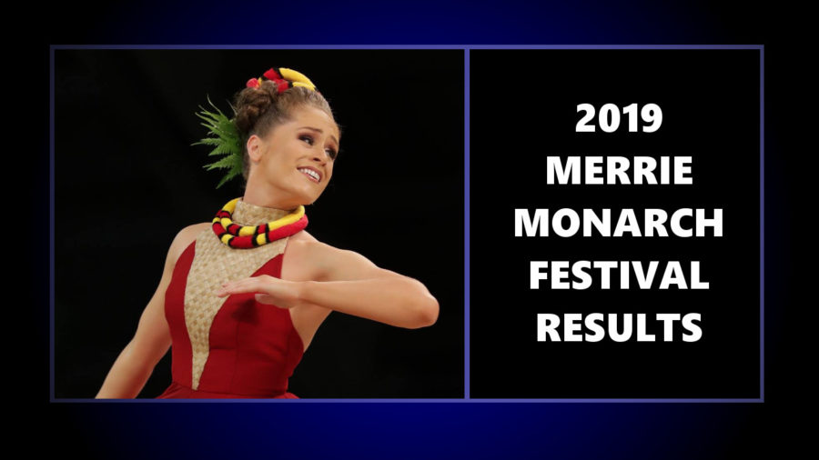 Merrie Monarch Festival 2019 Results