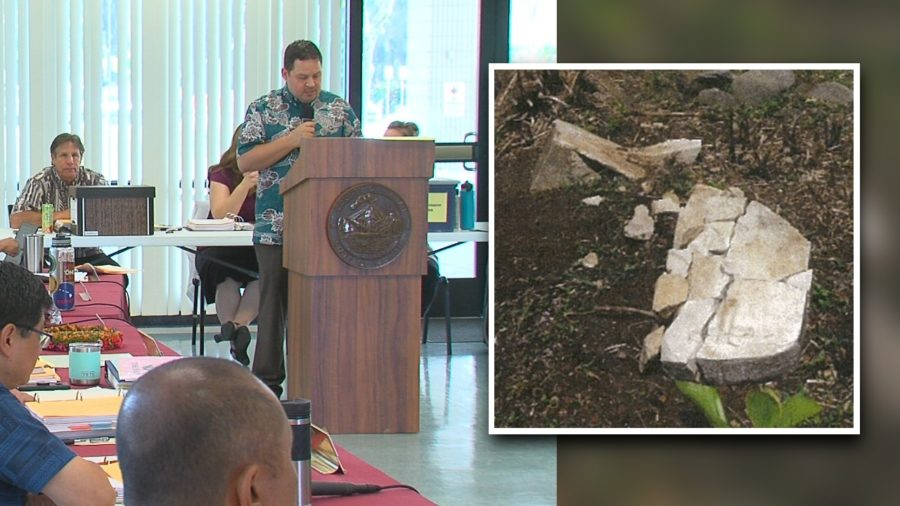 VIDEO: Damaged Grave Stones Rehashed At Planning Commission