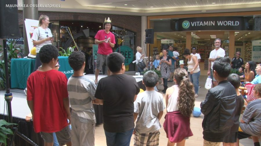 VIDEO: AstroDay Held In Hilo's Prince Kuhio Plaza
