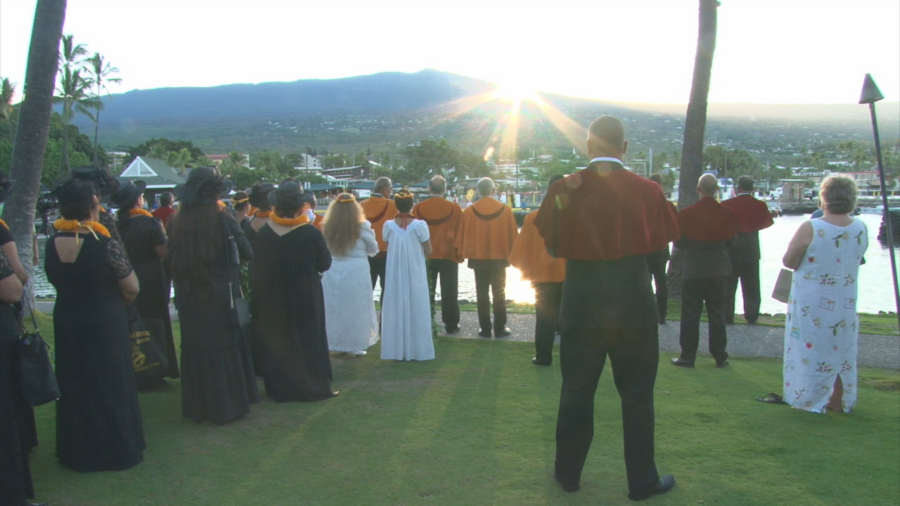 VIDEO: Sunrise Procession Marks 200th Anniversary Of King Kamehameha's Death