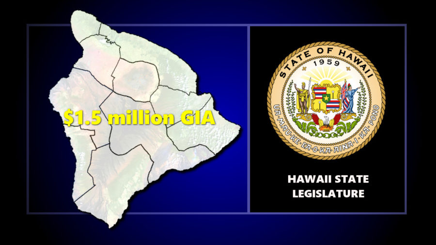 $1.5 million In CIP Grant-in-Aid Funds For Hawaii Island