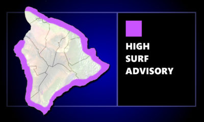High Surf Advisory In Effect For South-Facing Shores