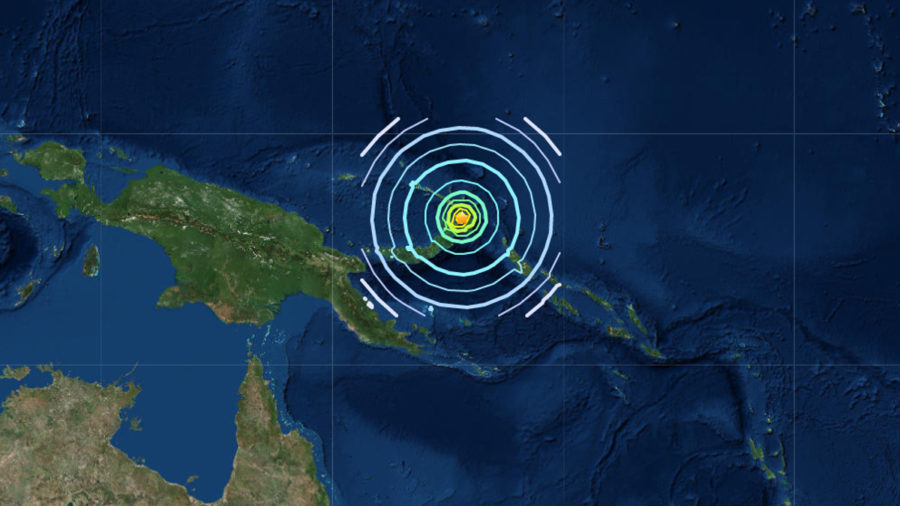 7.5 Earthquake Near Papua New Guinea, No Tsunami For Hawaii