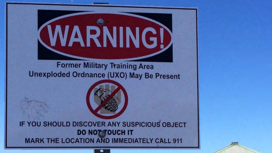 Plan Made For Waikoloa Maneuver Area Unexploded Ordnance