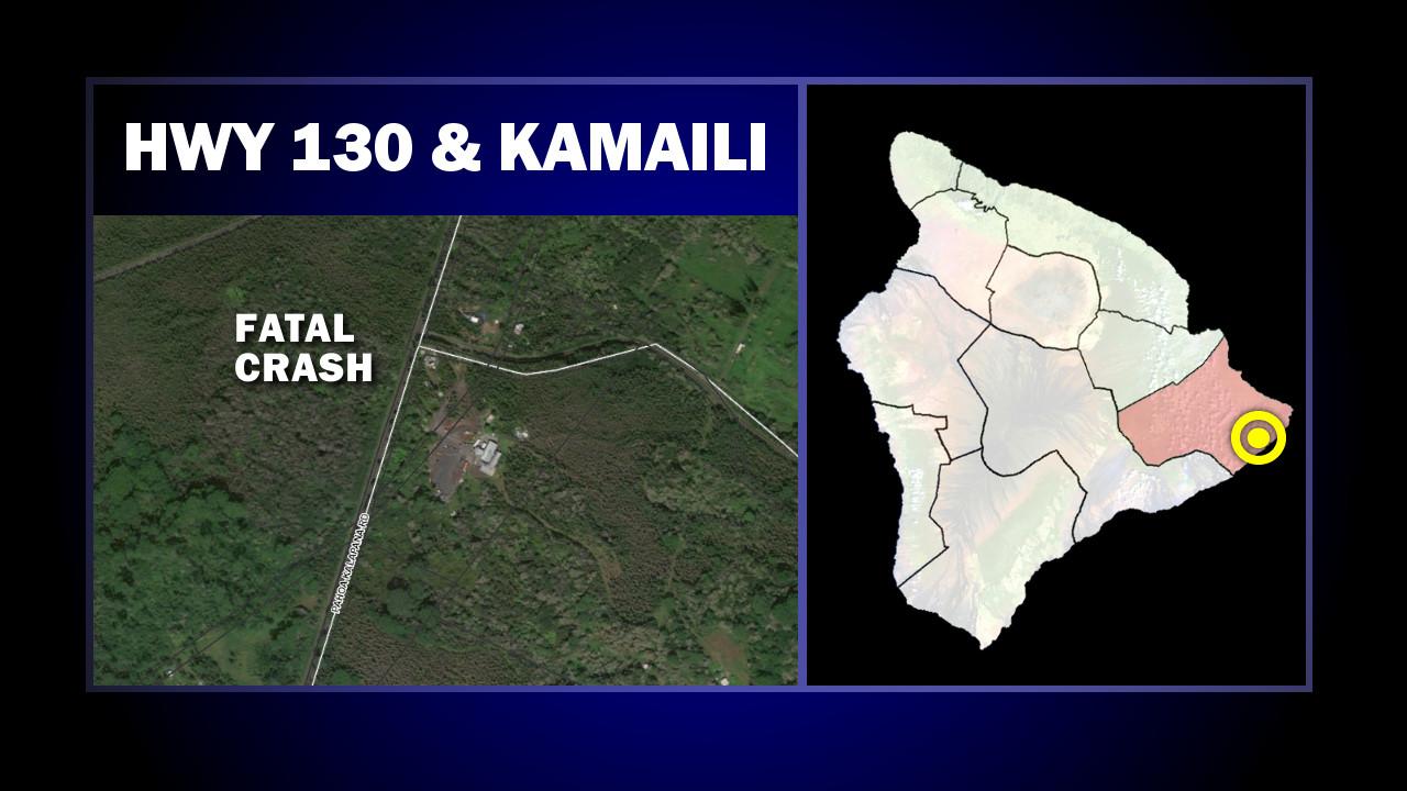 Pedestrian Killed On Highway 130 Near Kamaili Road