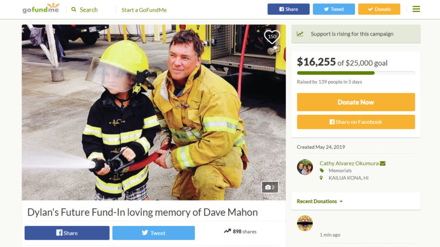 Funeral Procession Planned For Fallen Fire Captain David Mahon