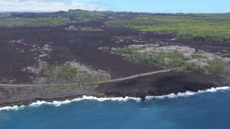 VIDEO: Aerial Survey Over Kilauea Eruption Sites