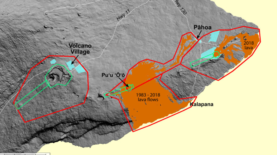 Kilauea Volcano Lidar Survey Set For June 13 through June 30