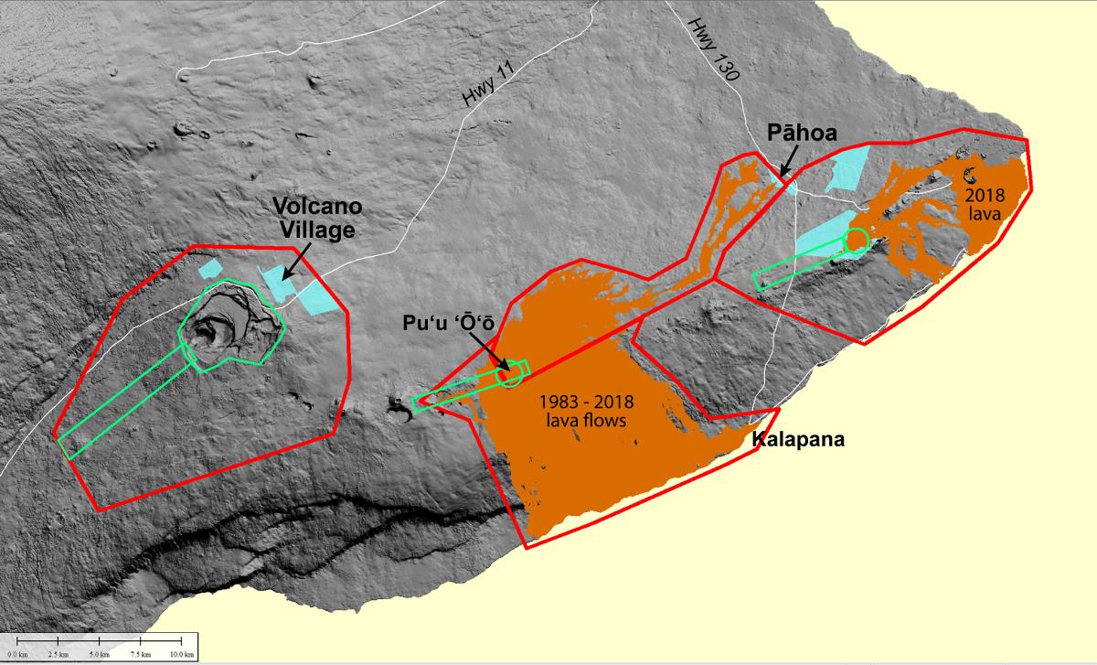 Kilauea Volcano Lidar Survey Set For June 13 through June 30 on east rift zone of kilauea, hawaii kilauea, first eruption of mount kilauea, last eruption of kilauea, volcano kilauea,