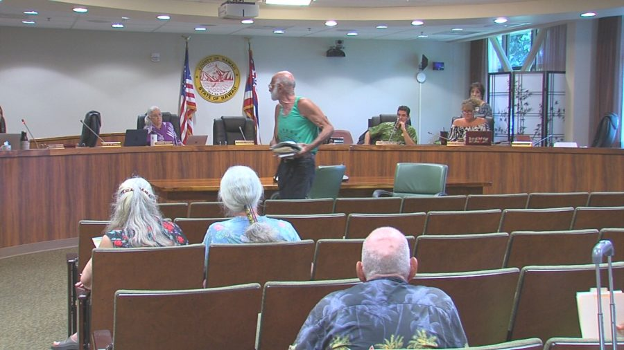VIDEO: Testifier Alleging Police Brutality Storms Out Of Council Meeting