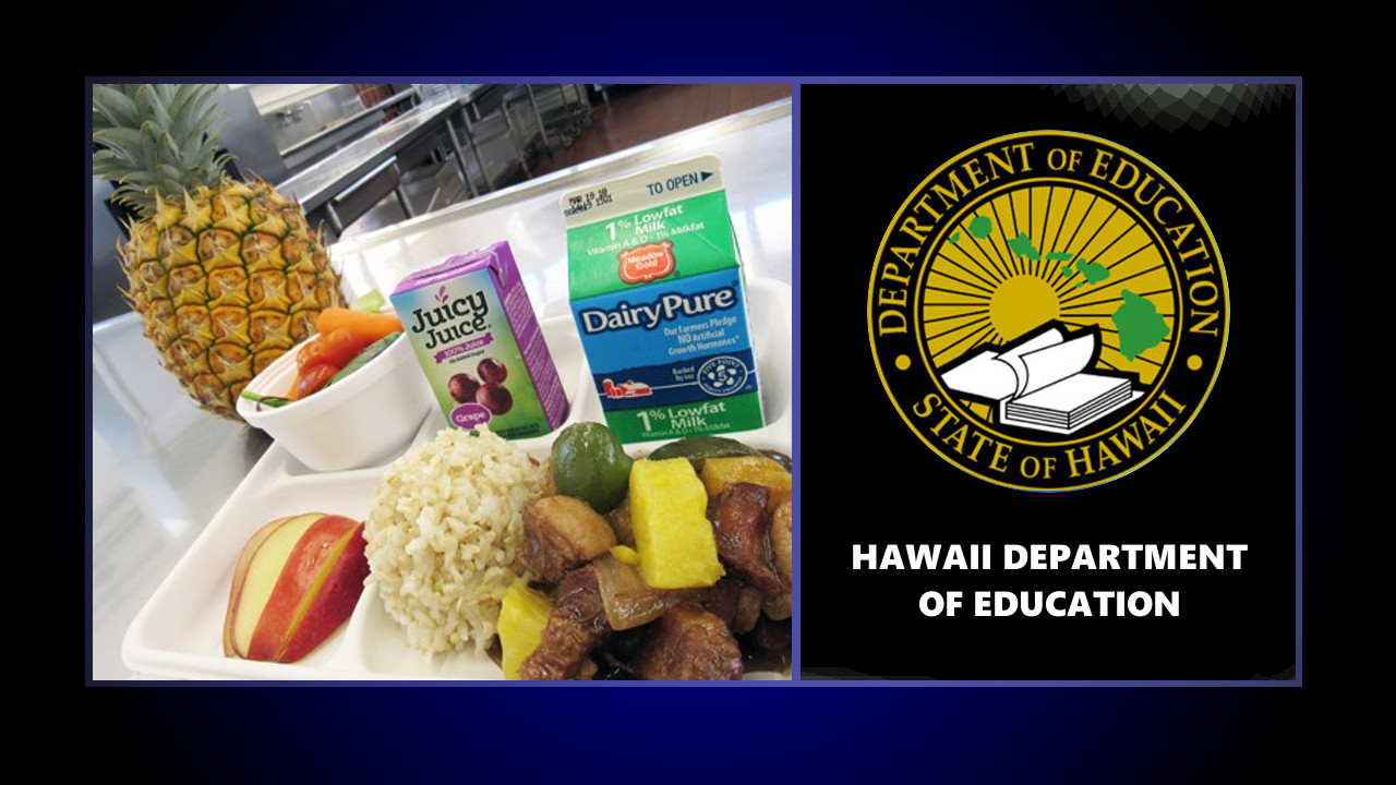 Hawaii Island Schools Offering Free Meals To Kids This Summer
