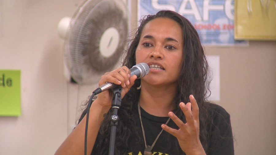 "VIDEO: ""This Is A Kāhea"" – Ruth Aloua At Mauna Kea Rules Hearing"