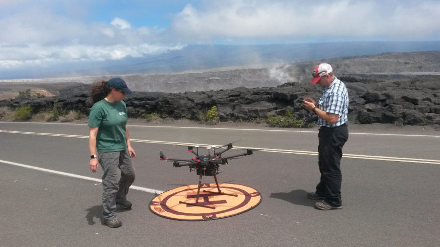 VOLCANO WATCH: Unmanned Aircraft Systems Deployed During 2018 Eruption
