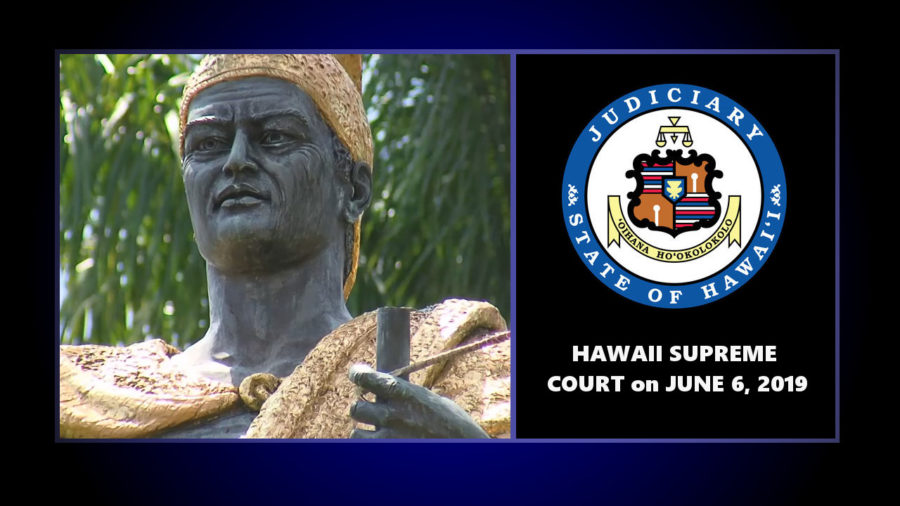 VIDEO: Vandalized Kamehameha Statue Case Goes To Hawaii Supreme Court