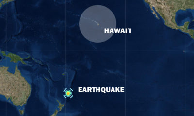 Tsunami Threat After Magnitude 7.4 Earthquake Off New Zealand