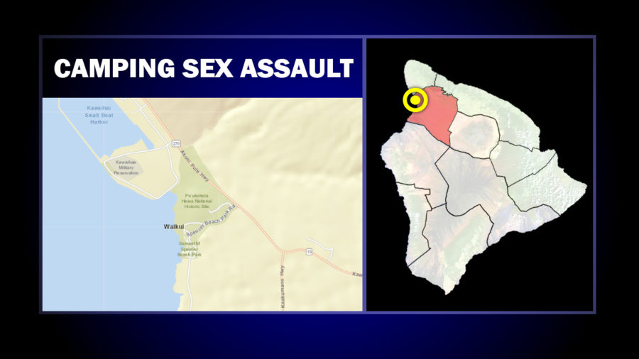 Sex Assault Reported At Kohala Coast Campground