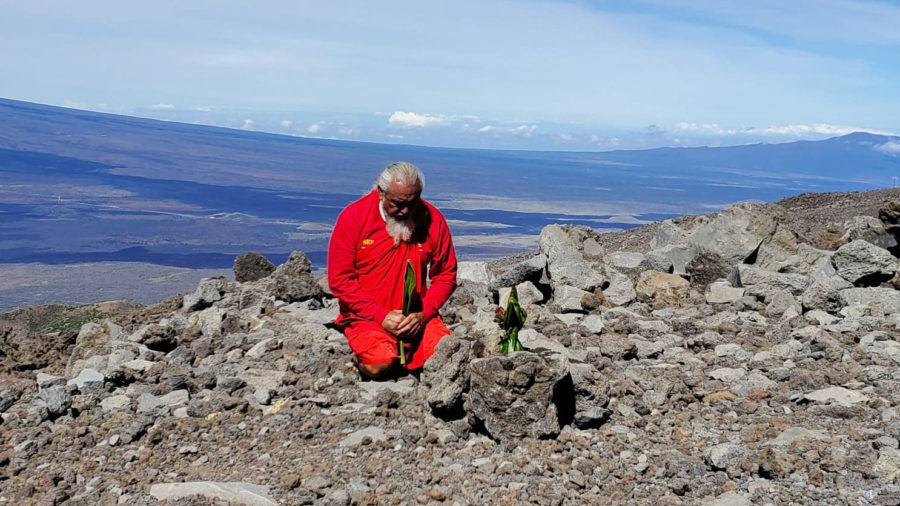 New ʻAhu Placed On Mauna Kea After Previous ʻAhu Removed