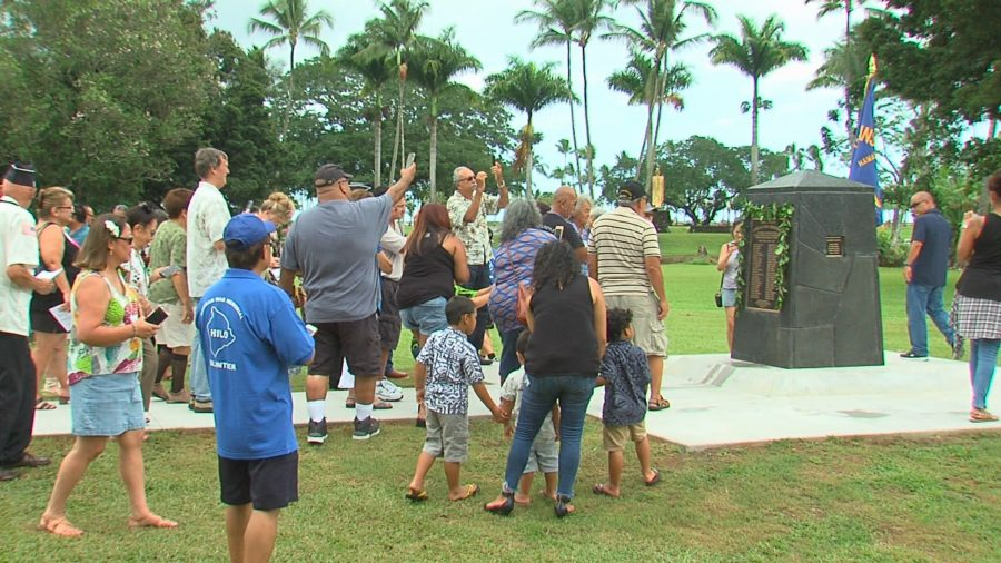 VIDEO: Korean War Memorial Unveiled In Hilo