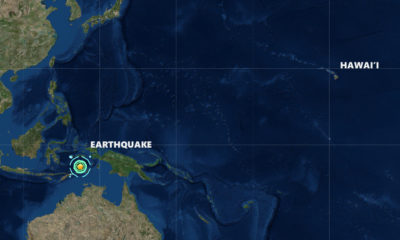 Magnitude 7.5 Earthquake Strikes Indonesia