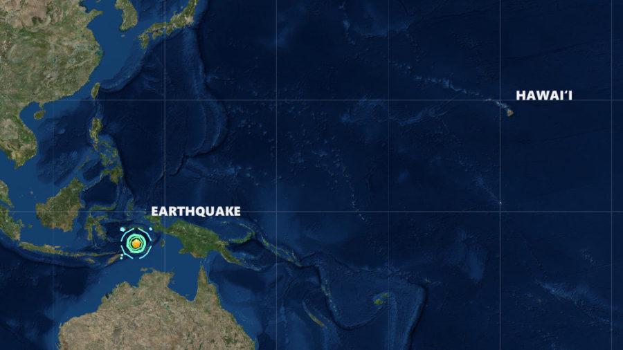 Magnitude 7.5 Earthquake Strikes Indonesia