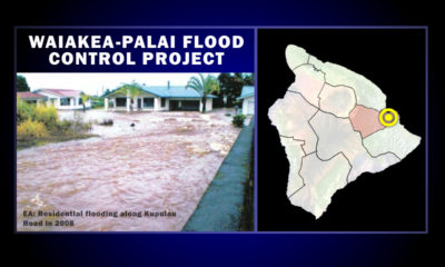 Waiakea Flood Control Alternatives Illustrated In Document