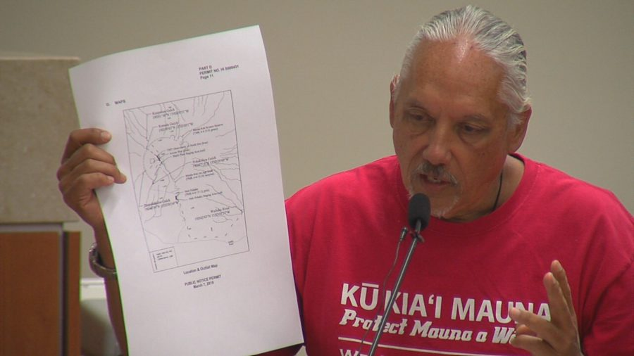 VIDEO: Kalani Flores Testifies On TMT NPDES Permit