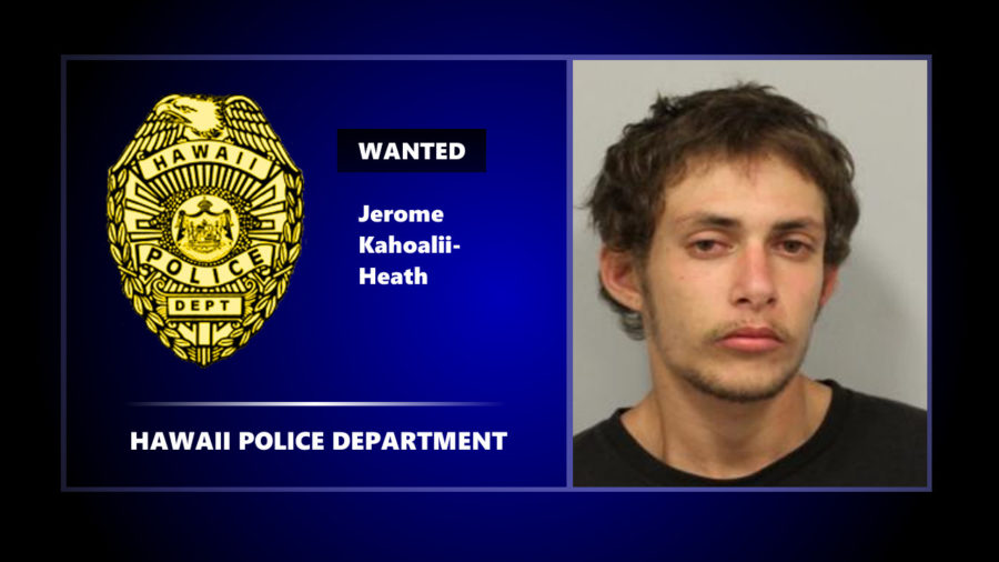 Kona Man Wanted For Alleged Attempted Murder On Mana Road