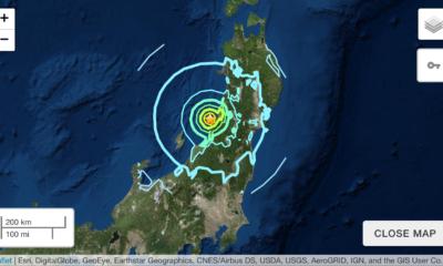 No Tsunami Threat To Hawaii After M 6.4 Earthquake Off Japan