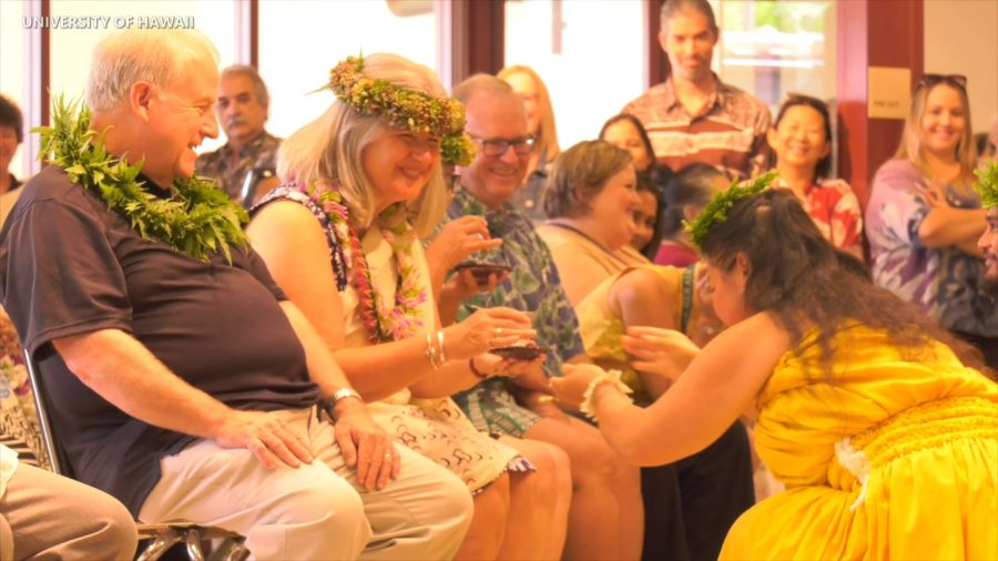 VIDEO: Ceremony Honors Incoming, Outgoing UH-Hilo Chancellors