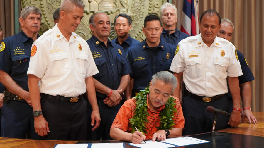 Governor Signs New Fireworks Bills Into Hawaii Law
