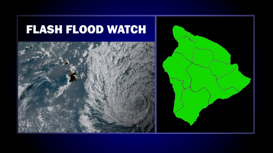 Civil Defense Issues New Flash Flood Watch Message Sunday Evening