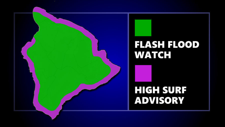 Flash Flood Watch Posted As Barbara Remnant Nears Hawaii