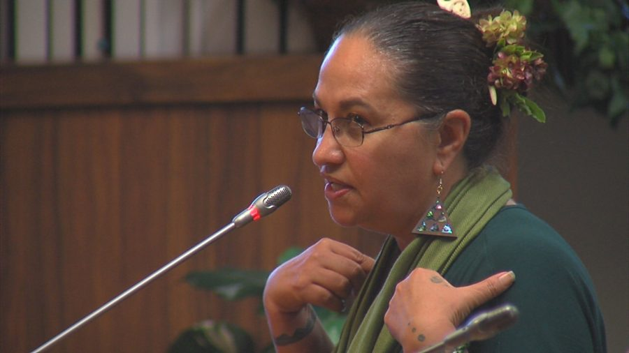 VIDEO: Pua Case Testifies To Council About Mauna Kea
