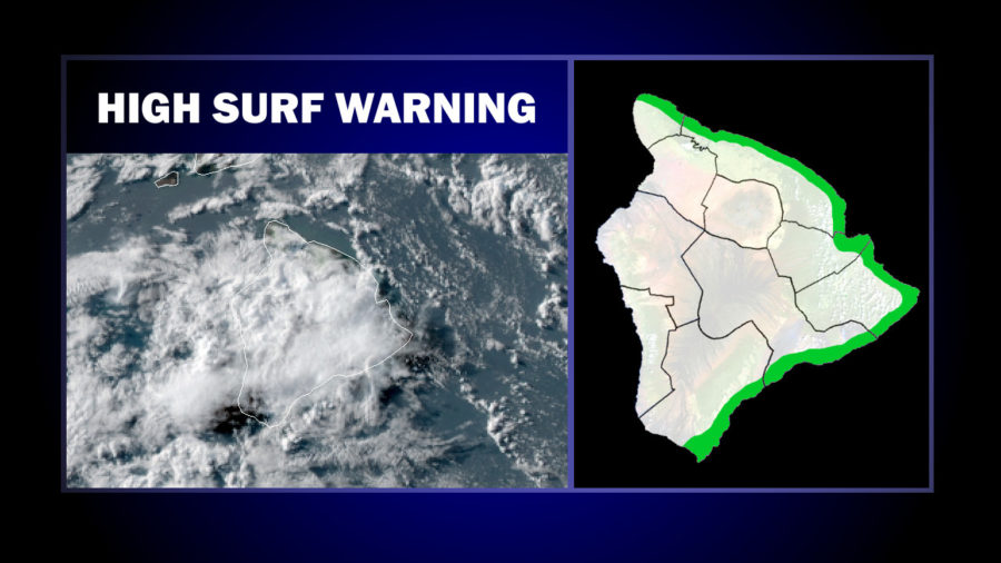 High Surf Warning For East Hawaii, Flash Flood Watch Cancelled