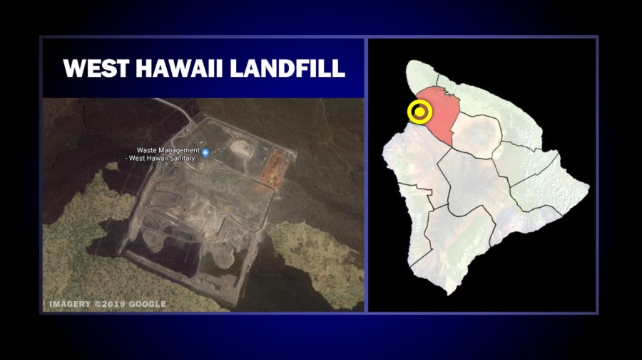 Fire At West Hawaii Landfill Forces Closures