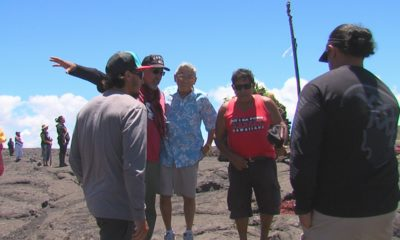 VIDEO: Mayor Kim Makes Surprise Visit To Puuhonua At Base Of Mauna Kea