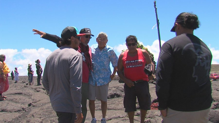 VIDEO: Mayor Kim Makes Surprise Visit To Puuhonua At Base Of Mauna Kea
