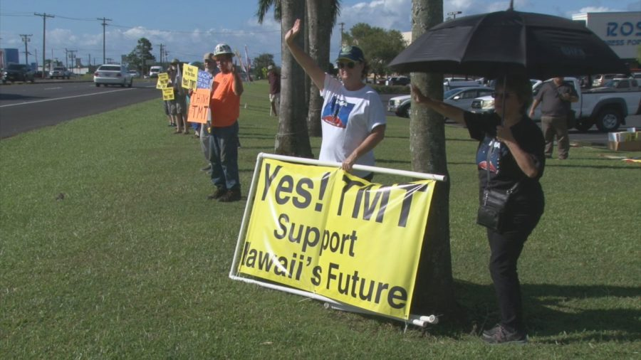 """VIDEO: TMT Equipment Going Up """"Later This Week"""", Supporters Rally"""