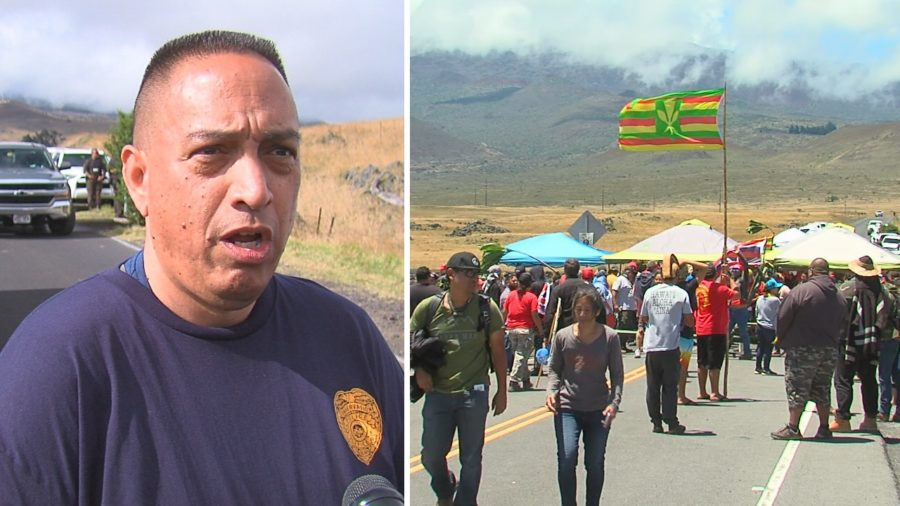 VIDEO: Hawaii Law Enforcement Chief After Mauna Kea Day 2