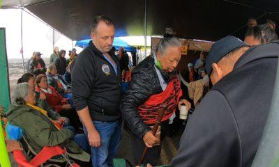 VIDEO: Lt. Gov. Josh Green Visits Mauna Kea Kupuna